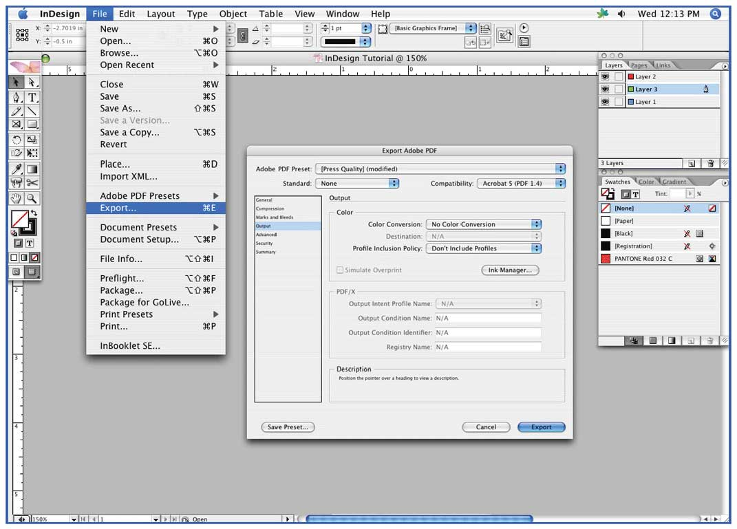 Colordigit.com - 14. How to save an Adobe InDesign Document to a ...