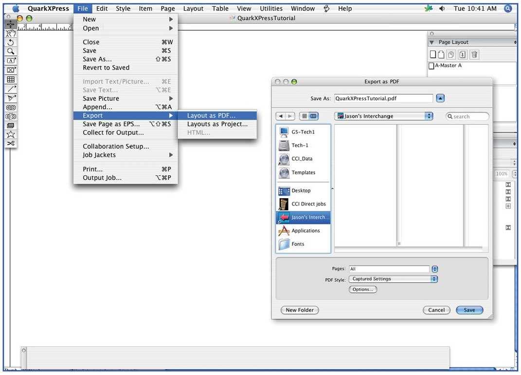 colordigit com 15 how to save a quarkxpress document to a print